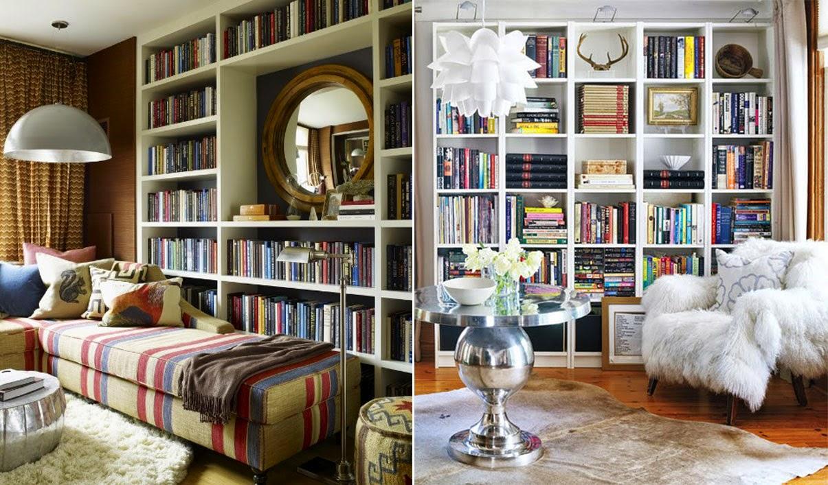 Decora O Home Office Uma Biblioteca Para Chamar De Sua Meu  -> Sala De Tv E Biblioteca