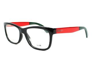 Gucci - GG 3853, Rechteckig, Optyl, Damenbrillen, BLACK RED GREEN(VM8)
