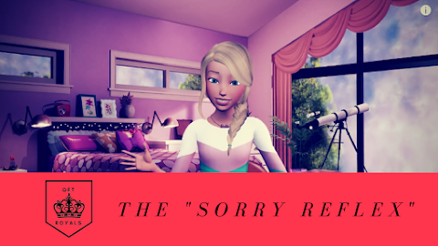 """Stop Saying """"Sorry"""" and Start Saying """"Thank You"""" – Royals Lesson"""