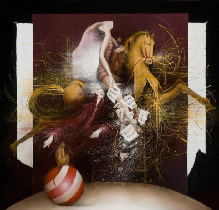 Современные художники Бельгии. Jean-Claude Dresse 19