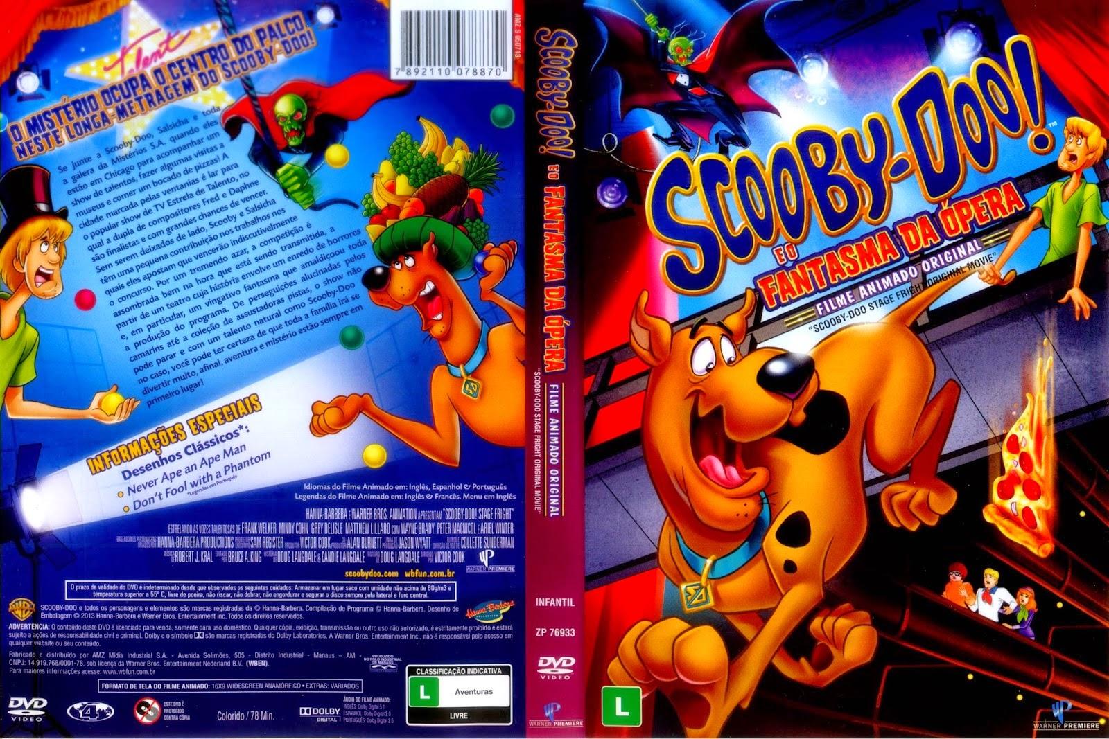 Scooby-Doo e o Fantasma da Ópera