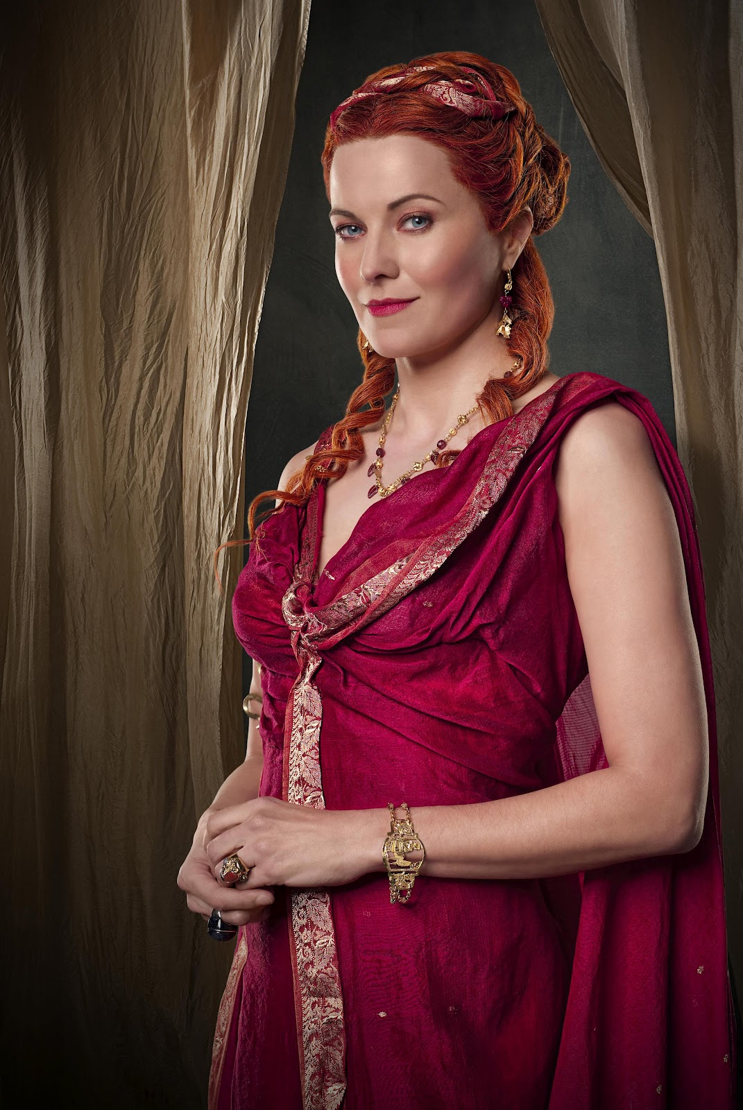 Lucy lawless lucretia spartacus