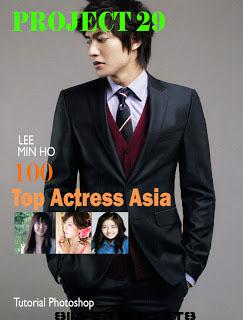 Hasil setelah menambahkan tiga Top actress asia
