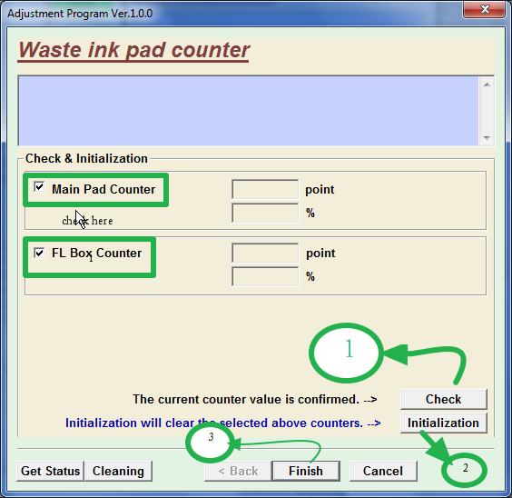 [Solved] How to Reset Waste Ink Pad Counter T13 Printer