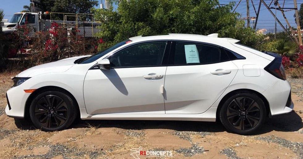New 2017 honda civic hatch nabbed out in the open for Reddit honda civic