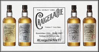 Craigellachie Verticale tasting