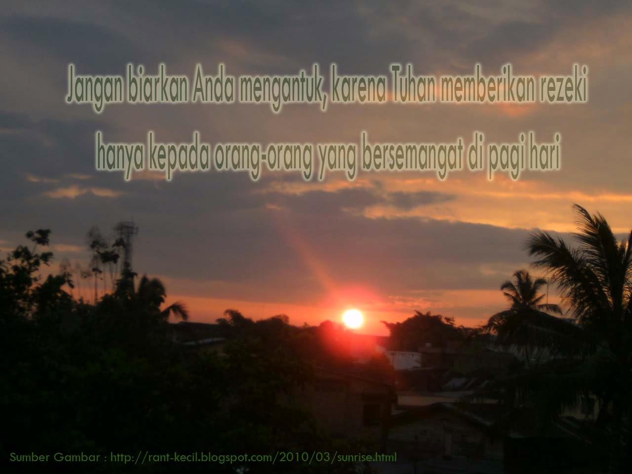 Ucapan Selamat Pagi Untuk Orang Spesial Kata Wawartos