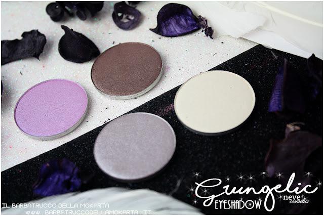 eyeshadow ombretti packaging Neve cosmetics  recensione, pareri, makeup, consigli, comparazioni
