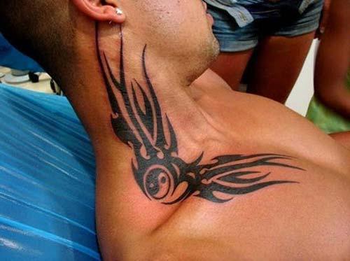 erkek tribal dövmeler man tribal tattoos 11
