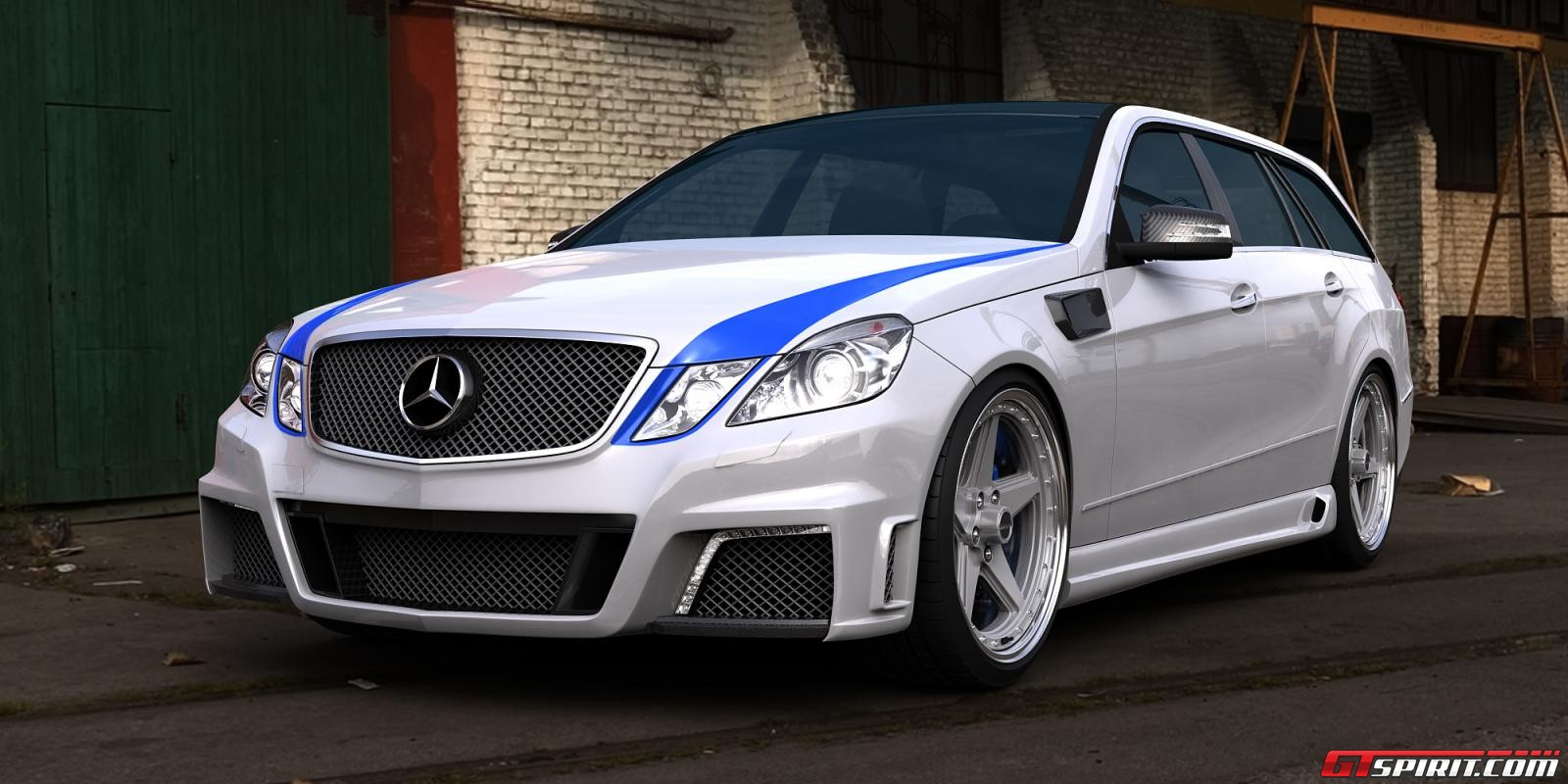 all tuning cars nz mercedes e63 amg estate 2011 by gwa tuning. Black Bedroom Furniture Sets. Home Design Ideas