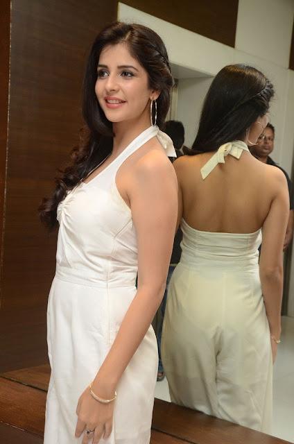 Actress Kashish Vohra Stills at Saptagiri LLB Teaser Launch