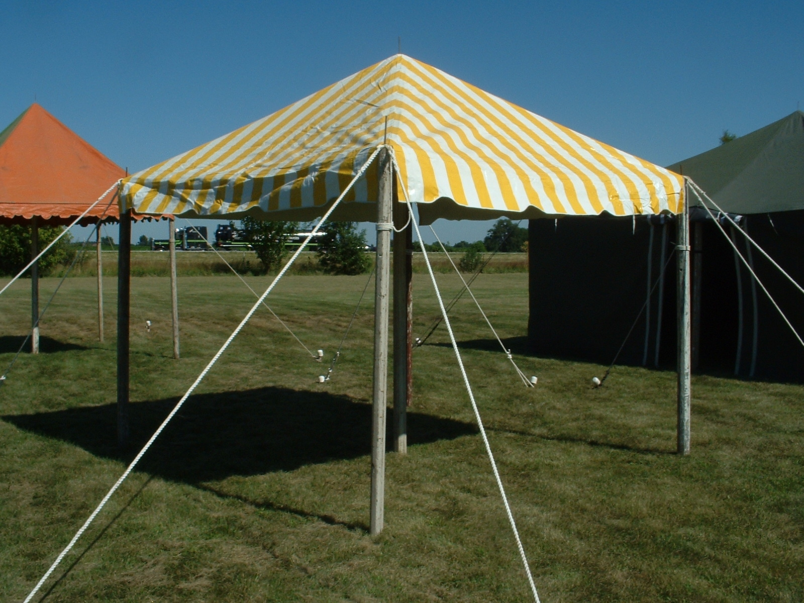 Used Gazebo Tent For Sale - New white 10x10 frame tents 1100 each