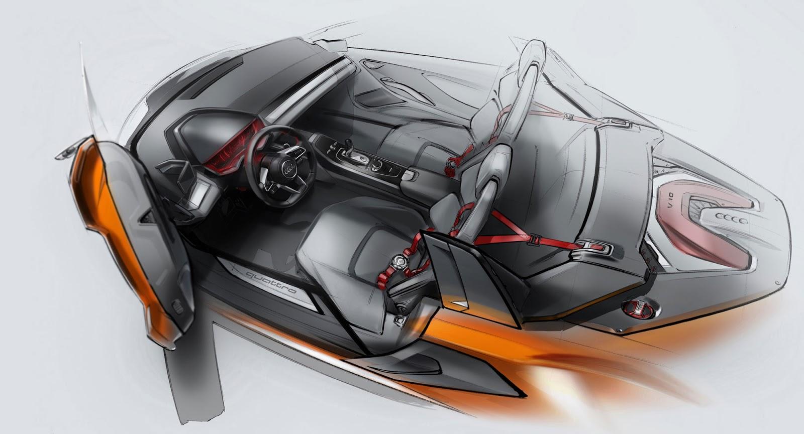 Audi Nanuk concept sketch