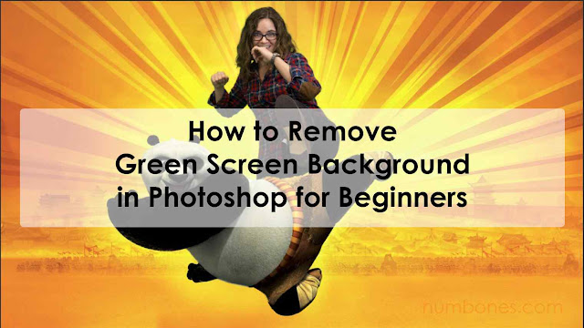 How to Remove Green Screen Background in Photoshop for Beginners