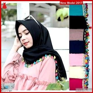 RYB087B Segiempat Tassel Cantik Renda Murah Lokal BMG Online Shop