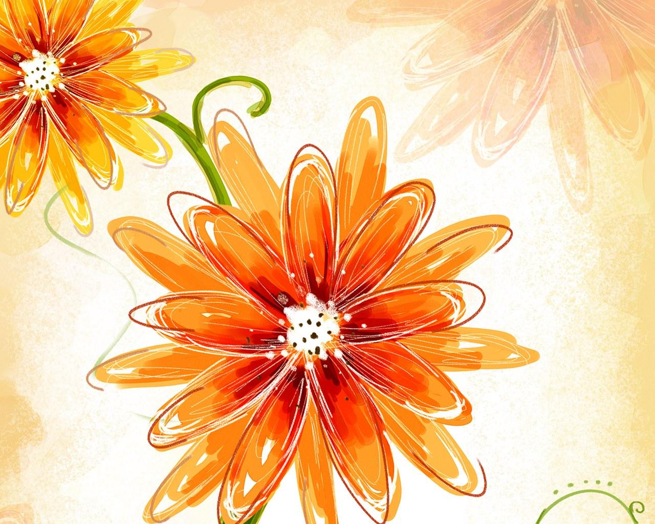 flower designs painting imazes flowers