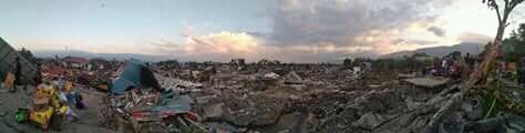 Kisah Korban Gempa Sulteng di Selamatkan Oleh Adzan Maghrib