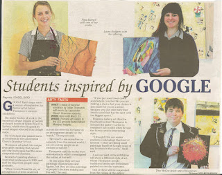 STUDENTS INSPIRED BY GOOGLE