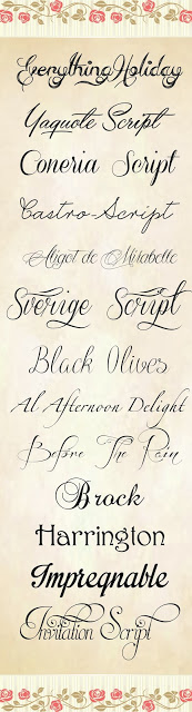 Download Free 13 script Fonts Pack 6 | Store