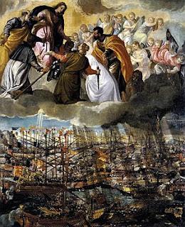 La Batalla de Lepanto de Veronese