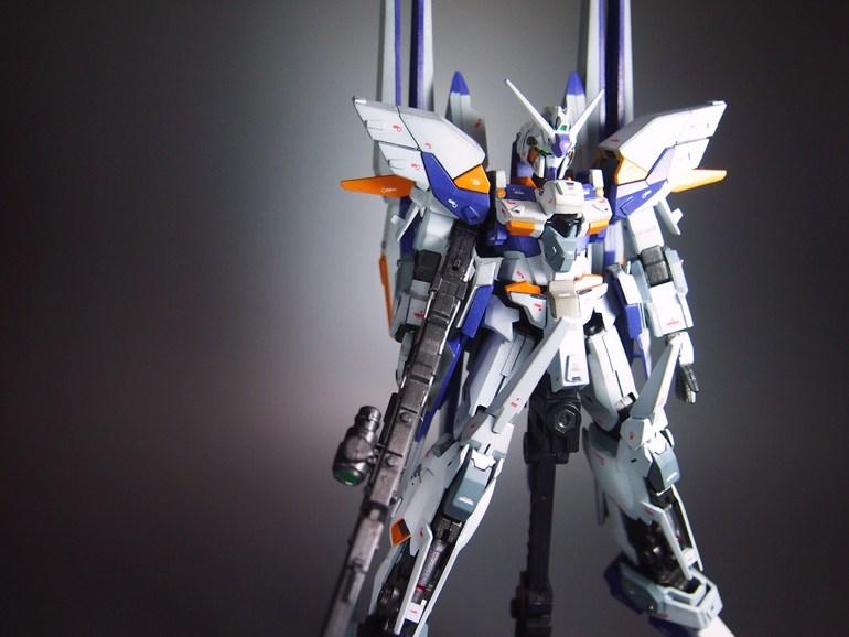 HGUC 1/144 Gundam Delta Kai Custom Build