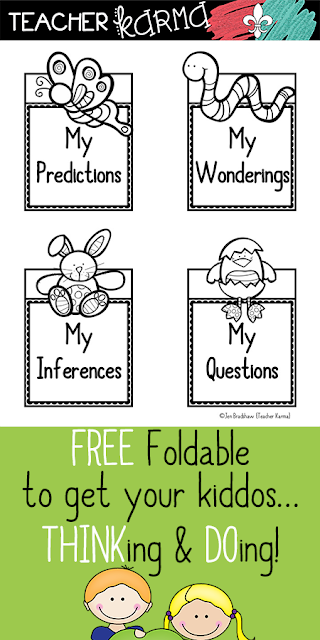 FREEBIE Reading resources for Spring TeacherKarma.com