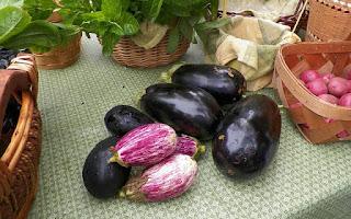 Berenjenas, hortalizas