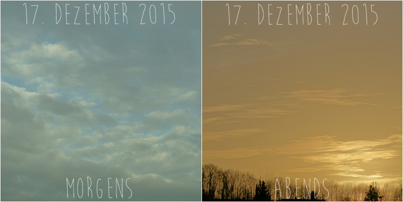 Blog + Fotografie by it's me! - Himmel am 17.12.2015