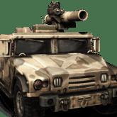 Armored Vehicle - T2 - Jenis pasukan pada Mobile Strike