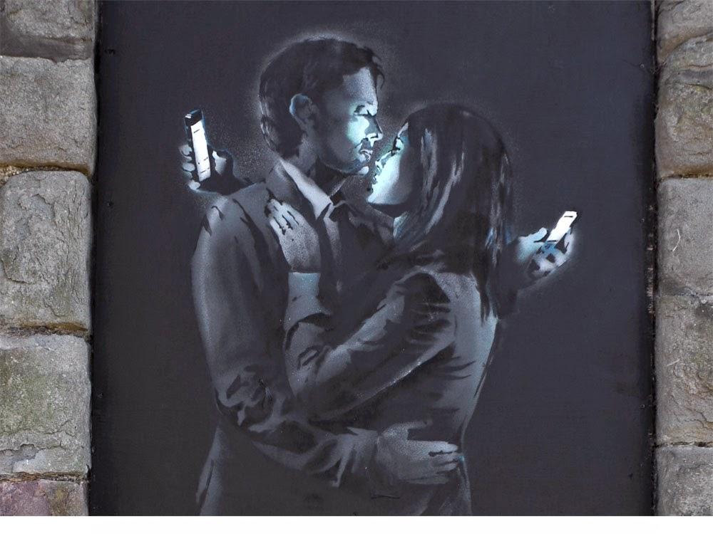 médialtern  Banksy munkái 63447b0269