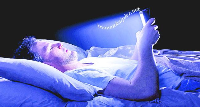 Uyku Öncesi Mavi Işığa Maruz Kalmayın!
