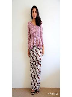 model rok batik panjang kebaya