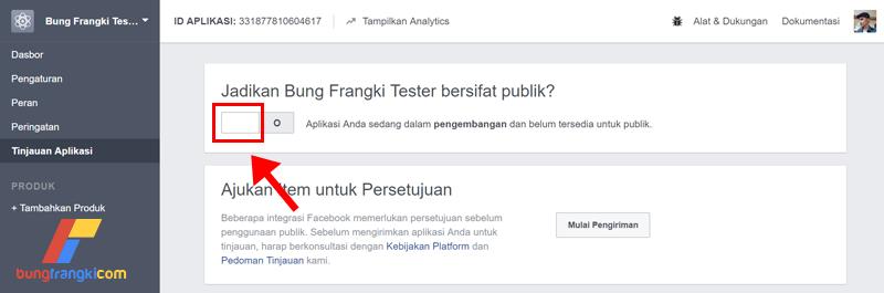 Cara mendapatkan Facebook App ID