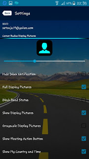Free Download BBM Transparent V2.13.0.22 Apk