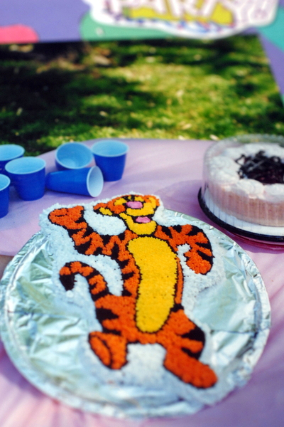 Tigger cake _ easy simple cake decorating