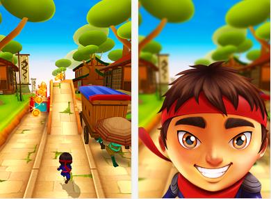 Ninja Kid Run Free Fun Game Free Android Download