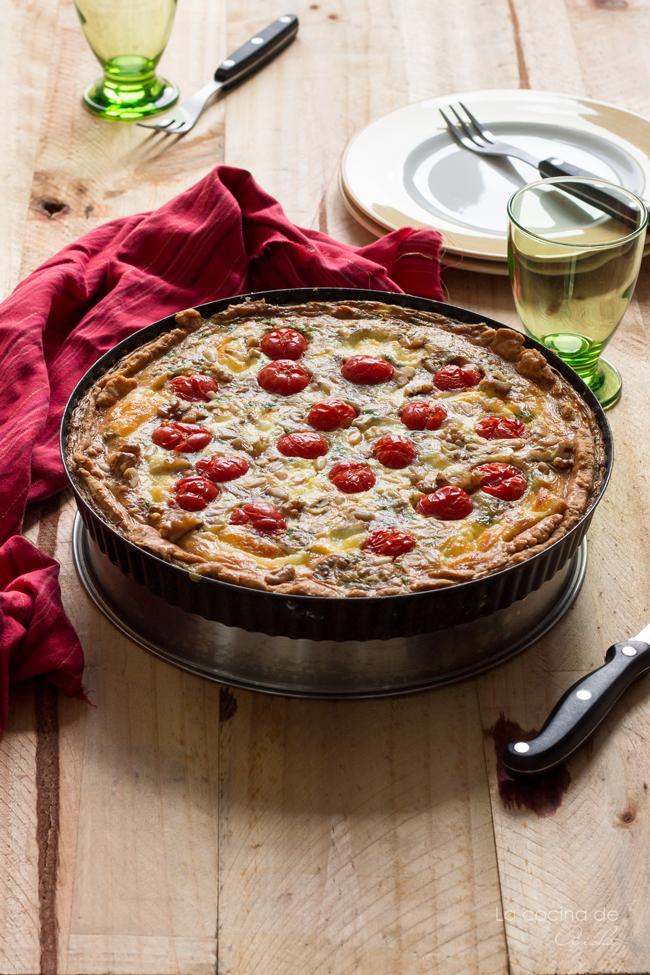 cherry-tomatoes-mozzarella-quiche