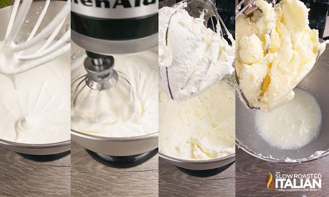 Stand Mixer Beating Heavy Cream