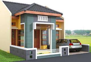 Rumah Minimalis Tampak Depan 1 Lantai