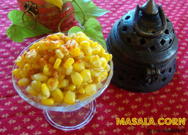 images of Masala Corn Recipe / Buttered Corn Recipe / Sweet Corn Chaat Recipe / Spicy Masala Corn Recipe