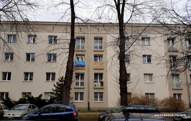 Warszawa Warsaw Stara Ochota kamienice architektura budownictwo