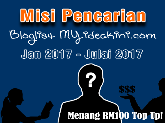 Misi pencarian bloglist myideakini 2017