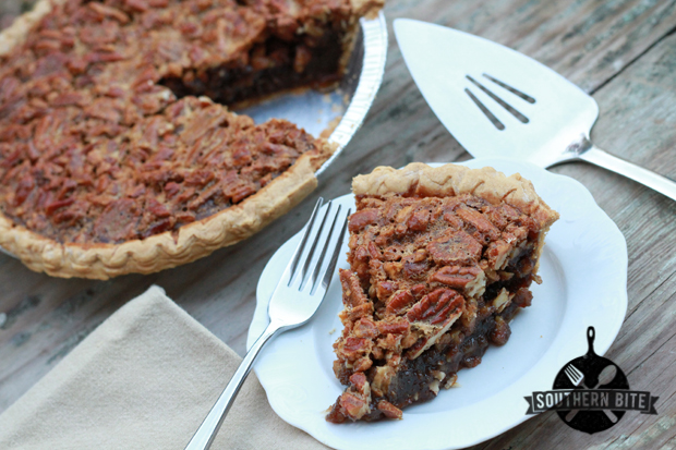 Easy Pecan Pie recipe from Southern Bite