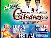 Festival Cisadane 2017, Kembali Digelar 22 Juli 2017