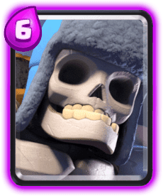 Carta do Esqueleto Gigante do Clash Royale