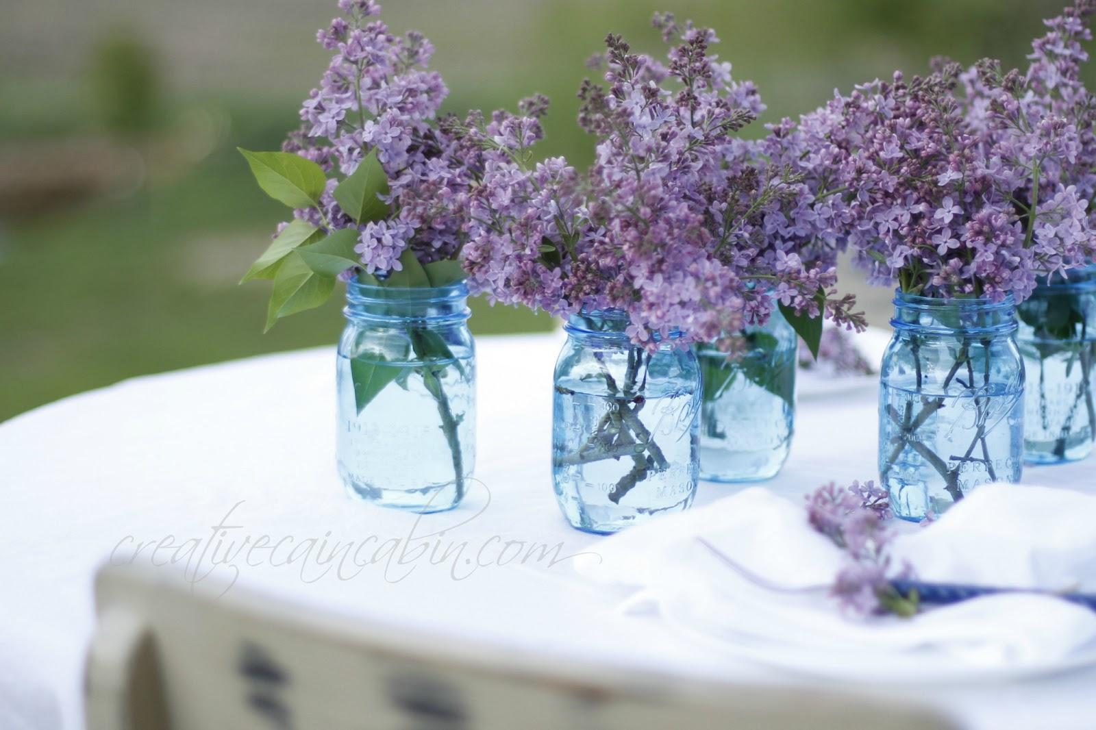 Spring Bouquet In Mason Jar Wallpaper Wallpaper Wide Hd