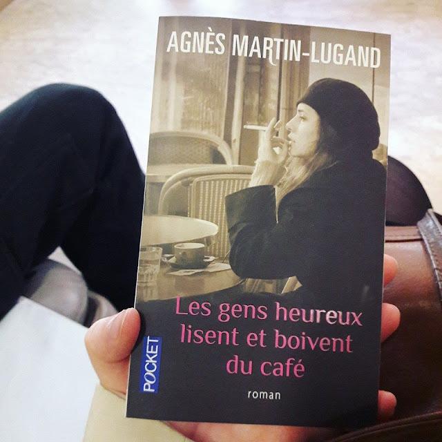 Les gens heureux lisent et boivent du café d'Agnès Martin-Lugand : du drame la naissance du beau