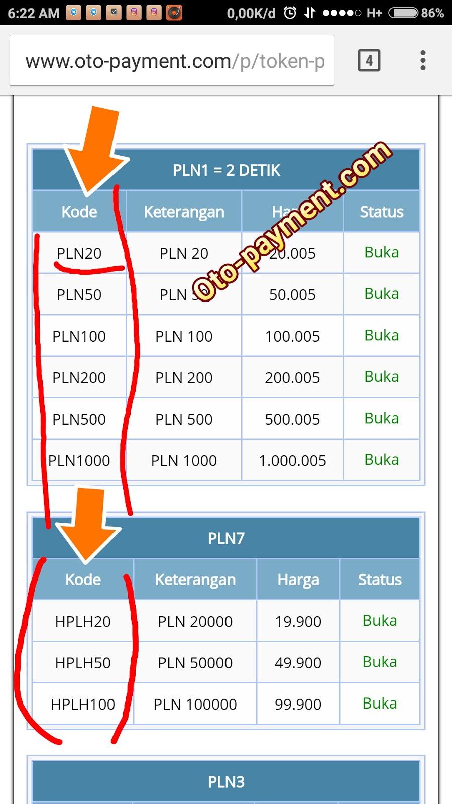 Contoh Nomor Token Listrik : contoh, nomor, token, listrik, MENGISI, TOKEN, Otopayment, PAYMENT