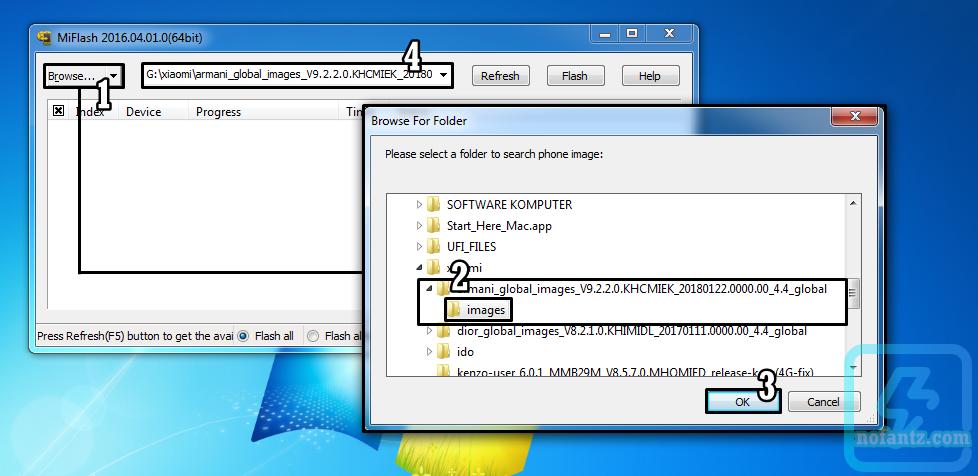 Tutorial Unbrick, Fix Bootloop dan Firmware Redmi 1S (Armani)