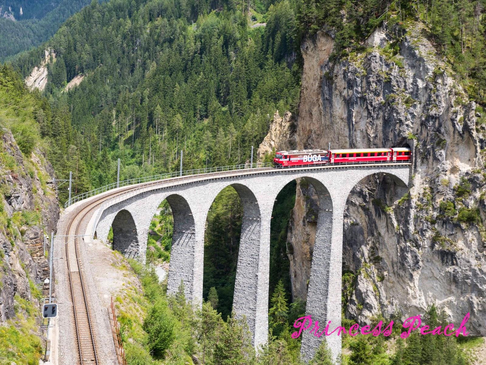 蘭德瓦沙拱橋-Landwasser-Viaduct